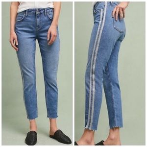 Anthropologie Pilcro Silver Side Seam Jeans NWT